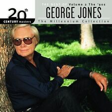 20th Century Masters -Millennium Collection: Best of George Jones, Vol. 2 (CD)