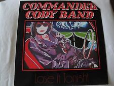 COMMANDER CODY BAND LOSE IT TONIGHT VINYL LP 1981 PETER PAN RECORDS TAS-12109 EX