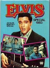 Rare Elvis Presley Book - Elvis Special 1983 - Elvis Monthly Annual- UK Printing