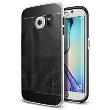 Spigen Galaxy S6 Edge Case Neo Hybrid Satin Silver