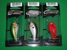 Cotton Cordell CRD Crankbait - Big O-Bass, Smokey Joe & Red Crawdad (3 Pack)