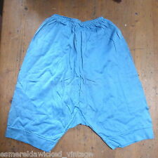 VINTAGE 1940S CC41 COTTON JERSEY BLOOMERS KNICKERS UK 6 8 WWII unused deadstock