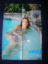 1970s Anicee Alvina Japan VINTAGE Poster Ultra RARE