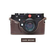 Ciesta Leather Case Leica M Dark Brown