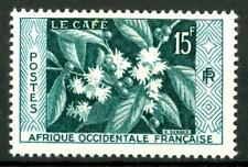 FRENCH WEST AFRICA - AFRICA OCCIDENTALE FRANCESE - 1956 - Pianta del caffé