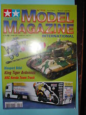 "ANCIEN REVUE ""TAMIYA MODEL MAGAZINE"" N°58JUILLET 2002 NIEUPORT KING TIGER HRC"