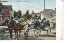 A Scene in Roberval,  Quebec, Illustrated Post Card, Photo by J.H. Côté (P482)