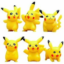 Pokemon Pikachu Monster Action Figures Kids Gifts Doll Toy Set Cute 6pcs