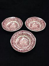LOTTO 3x VINTAGE Massoni vista Ironstone China cereali dessert ciotole piatto Bundle