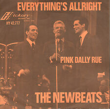 "NEWBEATS ‎– Everything's Allright/Pink Dally Rue (1964 SINGLE 7"" DUTCH PS)"