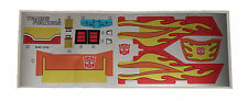 G1 Rodimus Prime Complete Sticker Decal Sheet