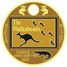 The Walkabouts Pathtag Set GEOCACHING Includes 10 Tags Pathtags Lot Geocoin Alt