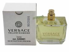 Yellow Diamond by Versace (Unbox No Cap)3.0 Oz/ 90 mL EDT Spray For Women New