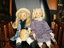 ADORABLE WOODEN/CLOTH ARTIST DOLLS FROM GERMANY!!