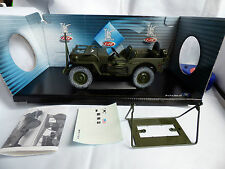 SOLIDO PRESTIGE WWII US ARMY MILITARY WILLYS JEEP 1:18 SCALE MIB Boxed New