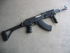 One Air Soft DE Metal AK-47S Airsoft Auto AEG Rifle 320 FPS @ 0.2G w/ RIS Black
