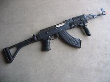 One Air Soft DE Metal AK-47S Airsoft Auto AEG Rifle 320 FPS @ 0.2G w/ RIS Black