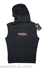 Adventure At Nature Hooded Wetsuit Vest 3mm Neoprene For Scuba Diving Size M