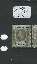 LEEWARD ISLANDS (P0606BB) KGV 1/-  SG5AB   VFU