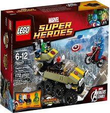 Lego 76017 Marvel Super Heroes Captain America vs. Hydra NEW MISB