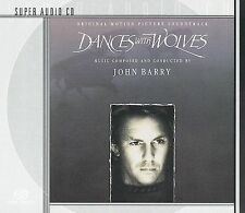 CD Dances With Wolves Soundtrack - John Barry 1990 CBS records