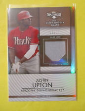 Justin Upton 2012Topps Triple Threads Game-Used Jersey Card. #D 27/27 = 1/1