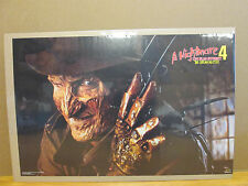 Vintage A Nightmare on Elm Street 4 Dream master movie poster   8157