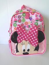 DISNEY MINNIE MOUSE GIRLS BACKPACK BOOK BAG 16 INCH