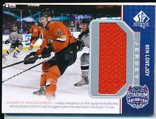 2014/15 SP Game Used SS-BL Ben Lovejoy Stadium Series Material Jersey Insert