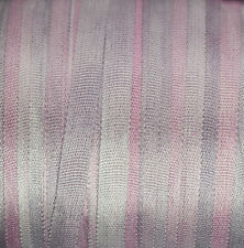 Silk Ribbon for Embroidery 4mm - 3 meters Mauve