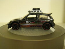 Hot Wheels Custom '90 Honda Civic EF, 1:64 Die cast car with rubber tires