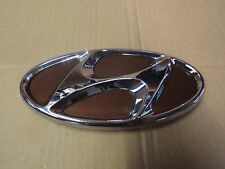 HYUNDAI GENUINE REAR HANDLE LOCK TAILGATE BOOT LID BROWN BADGE LOGO EMBLEM