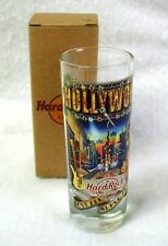 NEW Shot Glass Shooter Jigger HARD ROCK CAFÉ HOLLYWOOD Street Scene Multi-Color