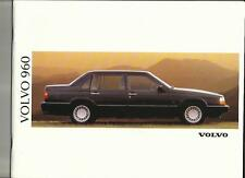VOLVO 960 AND 960 24v  SALES BROCHURE 1991