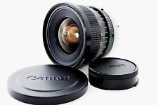 [ Excellent+++ ] Canon Lens FD 17mm F4 S.S.C. SSC 17 4 from JAPAN S/N 24304