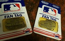 COLLECTIBLE FLORIDA MARLINS OFFICIAL LICENSED REGISTERED FAN TAG