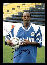 Johnson Bwalya  Autogrammkarte FC Luzern Original Signiert+A 148535
