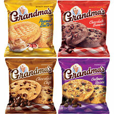Grandma's Homestyle Cookies, Variety, 2.5 oz, 33 ct  Packs x 2 = 66 Cookies