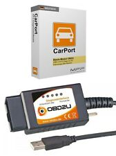 E327 USB OBD 2 diagnóstico-Interface alemana Software para Opel Chevrolet chysler