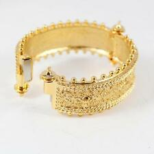 Authentic VIVIENNE WESTWOOD GREEK OPEN BANGLE BRACELET GOLD RETAIL $185