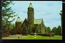 The Chapel at Slippery Rock College Slippery Rock PA!! Vintage Postcard!