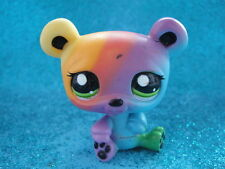 ORIGINAL Littlest Pet Shop Panda Bear Rainbow 2584 Shipping with Polish