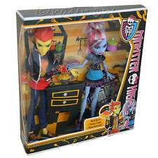 Monster High | Heath quemaduras y y Abbey Bominable | Socios De Laboratorio | Paquete Doble