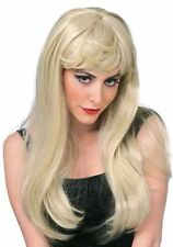 Blonde Glamour Wig Deluxe Quality Halloween Wig Costume Accessory Fancy Dress