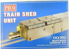 Peco 00/H0 LK-80 -  Train Shed (Depot) Kit            New   (00)   Railway Model