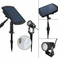 Waterproof Solar Powered LED Spotlight Spot Light Outdoor Garden Pool Pond Lamp