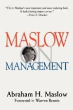 Maslow on Management by Abraham H. Maslow (1998, Hardcover, Revised)