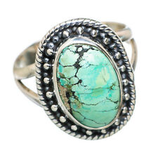Tibetan Turquoise 925 Sterling Silver Ring Size 7 Ana Co Jewelry R796634