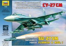 1:72 Zvezda #7295 - Russian Fighter SU-27 SM Flanker B Mod 1  - New molds !