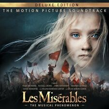 LES MISERABLES CD - ORIGINAL MOTION PICTURE SOUNDTRACK [2CD DELUXE EDITION] NEW